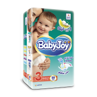 BabyJoy Tape Diaper(M Size3)