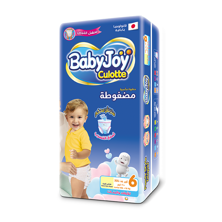 BabyJoy Culotte Diaper - 6(Jr XXL)